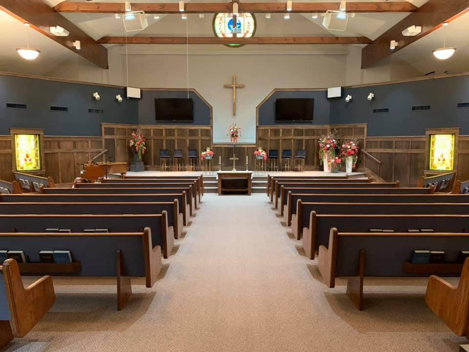 first christian church sanctuary in girard illinois